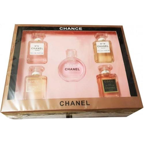 Chanel Chance 5 в 1 набор миниатюр