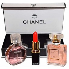 Chanel 3 в 1 подарочный набор для женщин