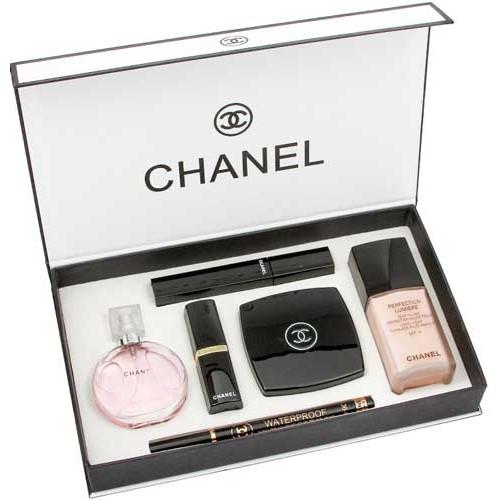Chanel 6 в 1 подарочный набор