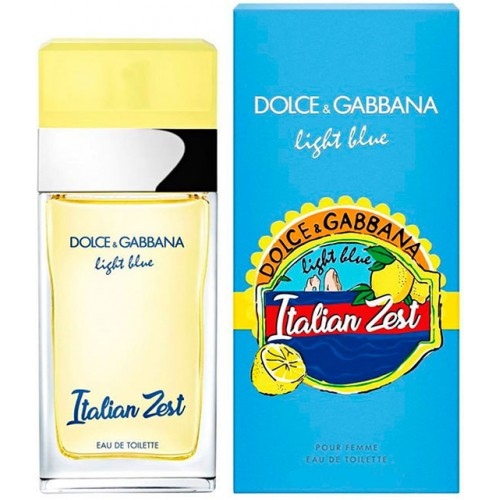 Dolce and Gabbana Light Blue Italian Zest