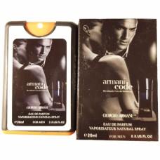 Giorgio Armani ARMANI Code Pour Homme Miniparfum