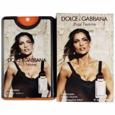 Dolce and Gabbana Pour Femme eau de Toilette Miniparfum