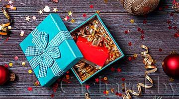 Духи как подарок на Новый год и Рождество