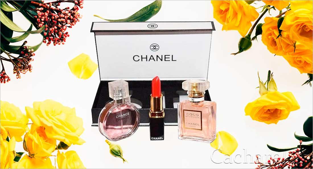 Набор парфюмерии Шанель 3 в 1